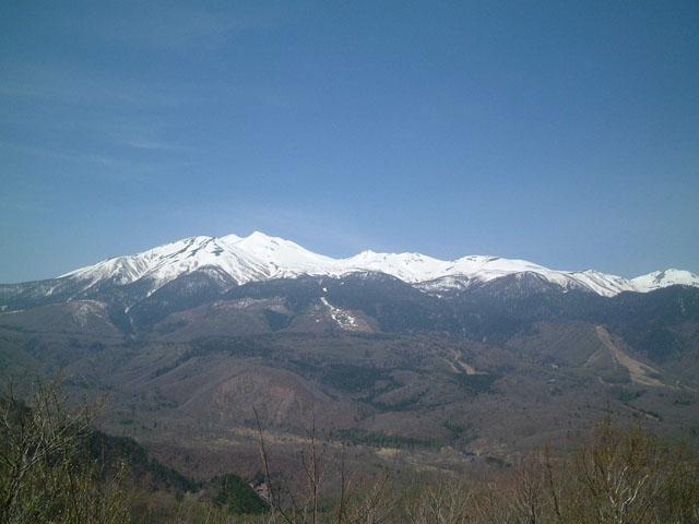 白樺峠からの乗鞍岳