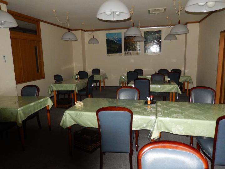 解放された食堂